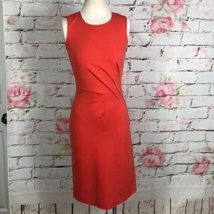 Kobi halperin sleeveless side pleat dress